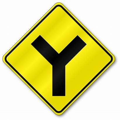 Intersection W2 Traffic Sign Reflective Signs Aluminum