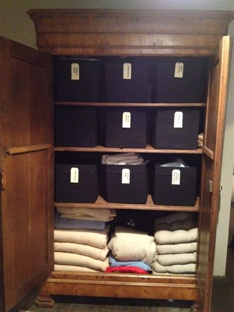 Linen Cupboard Organisation by 17 Best Images About Linen Cupboard Storage On
