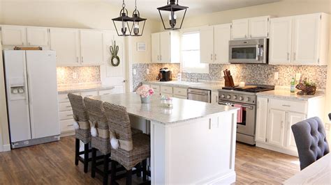 remodeled kitchens with islands my kitchen mini kitchen tour remodel update