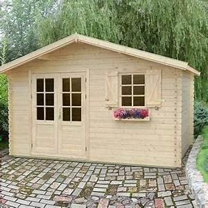Cabanon De Jardin Bois : vente de chalet bois en kit stmb construction chalets bois ~ Melissatoandfro.com Idées de Décoration