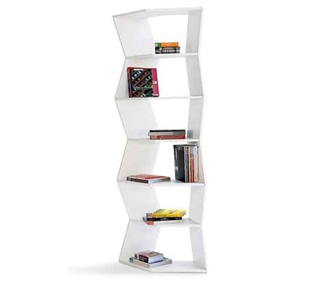 Zig Zag Bookcase by Zig Zag Bookcase Room Divider Vurni