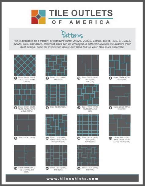 tile layout patterns tile design patterns