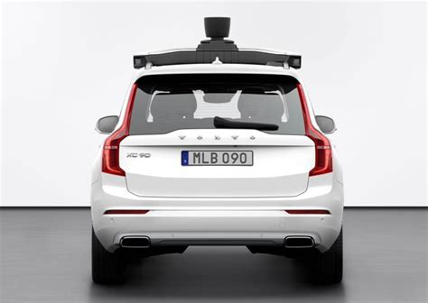 Volvo, Uber Reveal Production-ready, Autonomous Car Paul