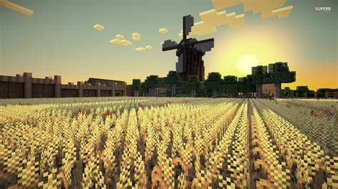 minecraft background field hd background wallpapers