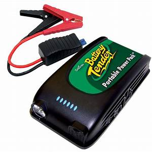 Battery Tender Portable Power Pack 12v Jump Starter With