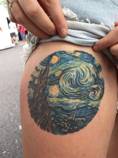 starry night tattoos designs ideas  meaning tattoos