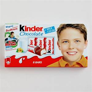 Kinder Chocolate Bars, Set of 10 World Market