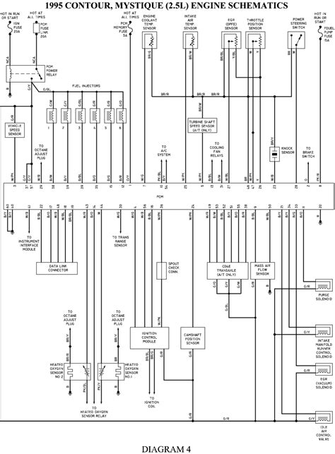 1997 Ford Contour Wiring Diagram by 1996 Ford Contour Wiring Diagrams