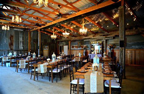 barn   pines ranch crosby tx rustic wedding