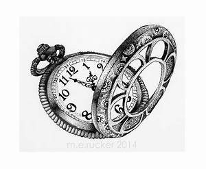 Antique Pocket Watch Pencil Drawings Pictures to Pin on ...