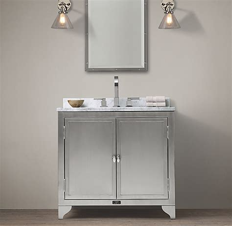 laboratory stainless steel single vanity