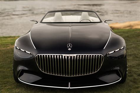 Vision Mercedes Maybach 6 Cabriolet 2017, Hd Cars, 4k
