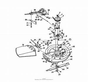 Mtd 13ab560b000  1997  Parts Diagram For Deck Assembly