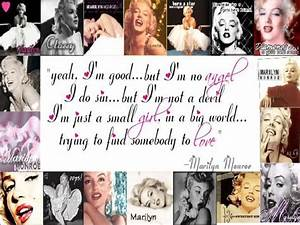 Marilyn Monroe Quotes Wallpaper. QuotesGram