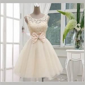 vintage short lace bridal dresses knee length wedding With knee length vintage wedding dresses