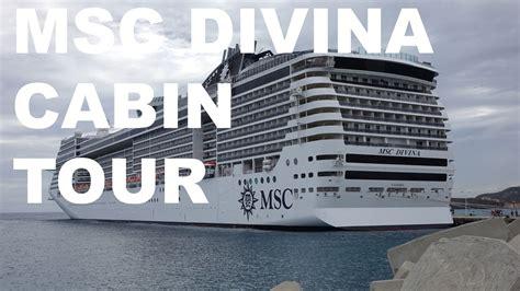 Msc Divina Cabine by Msc Divina Balcony Cabin