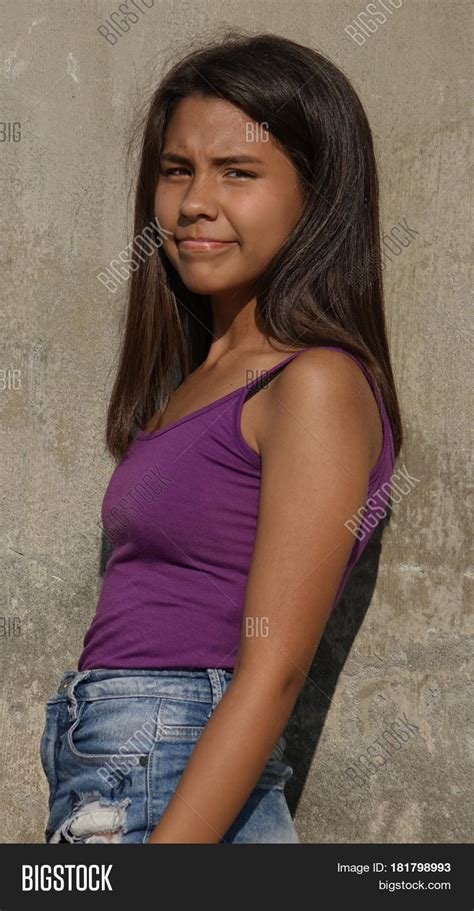 Young Slender Teenage Image And Photo Free Trial Bigstock