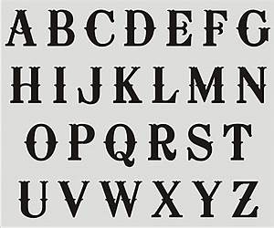 alphabet stencils a z upper case letters diy craft supplies With letter stencils for signs