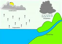 Examples of evaporation and condensation   made by young people at      Evaporation Diagram