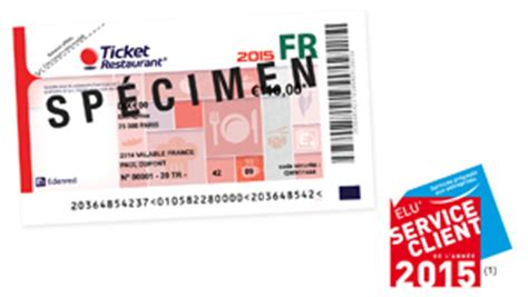 ticket restaurant papier