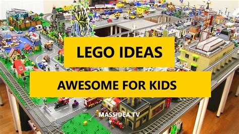 50+ Cool LEGO Ideas Awesome for Kids 2017 YouTube