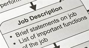 Creating best practice job description templates halogen for Creating job descriptions template