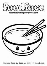 Coloring Kawaii Pages Printable Food Cute Sheets Colouring Foods Cartoon Print Printables Comments Coloringhome Library Clipart Template Popular Attached sketch template