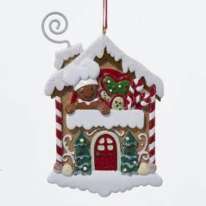 Gingerbread Man Baker House Christmas Ornament Walmart