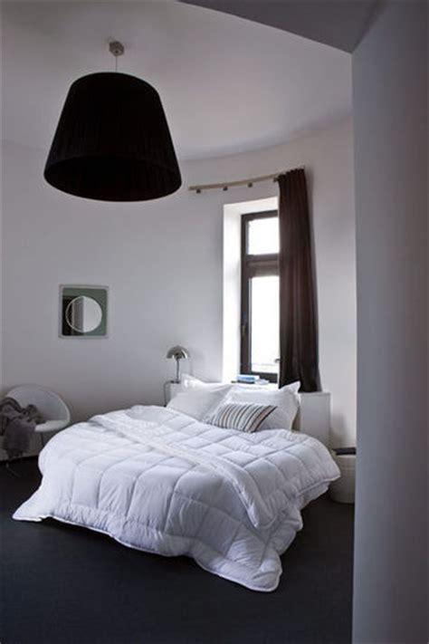 chambre gris noir et blanc déco chambre gris l 39 élégance et la simplicité côté maison