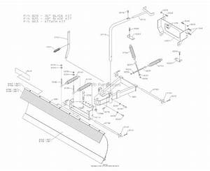 Dixon Zeeter 30  2004  Parts Diagram For Snow Blade