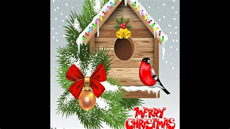 christmas cards send christmas greetings e cards and custom merry christmas card youtube