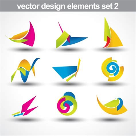 Abstract Shapes Collection by Abstract Shapes Collection Vector Free