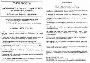 Concert De La Region 2016 : concert du 100e anniversaire de la bataille de verdun rennes sources de la grande guerre ~ Medecine-chirurgie-esthetiques.com Avis de Voitures