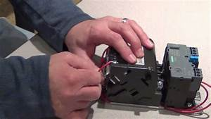 Furnas And Siemens Motor Starter Coil Change Procedure
