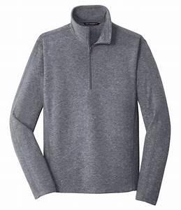 Eddie Bauer Full Zip Microfleece Jacket Size Chart Custom Mens Heather Microfleece 1 2 Zip Jacket