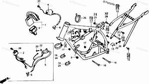Honda Motorcycle 1985 Oem Parts Diagram For Frame