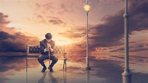 Dramatic Sunset Photo Manipulation Effects Photoshop