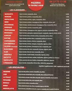 Saint Jean De Bournay : pizzeria le rendez vous restaurant saint jean de bournay 38440 adresse horaire et avis ~ Medecine-chirurgie-esthetiques.com Avis de Voitures