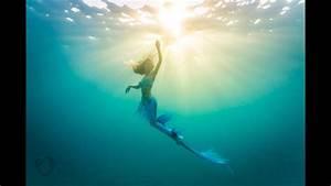 What It Feels Like To Swim Like A Mermaid
