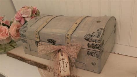 shabby chic wedding card box ideas vintage wedding card box luggage card box shabby chic wedding decor wedding trunk tr105