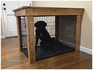 pet crate furniture wood dog crate furniture plans With best dog crate furniture