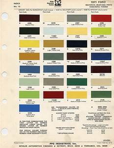 1967 ford mustang color chart – Godola