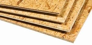 Plancher Pin Pas Cher : panneau bois osb fibre pas cher cloison ou plancher sainthimat ~ Melissatoandfro.com Idées de Décoration
