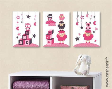 poster pour chambre poster pour chambre d 39 enfant et bébé fille par lot de 3