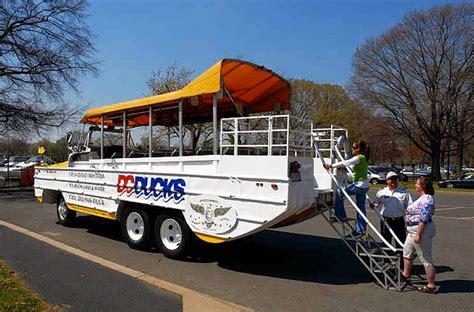 Duck Boat Tours Dc by Dc Ducks Tours Taketours