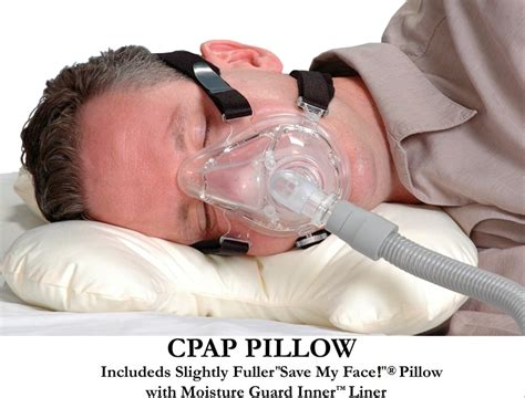 save my pillow le grand cpap pillow with moisture guard inner liner