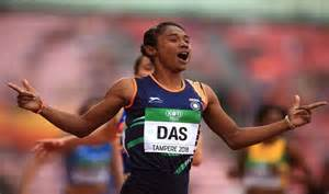 Wishes pour in after Hima Das wins gold, makes history ...