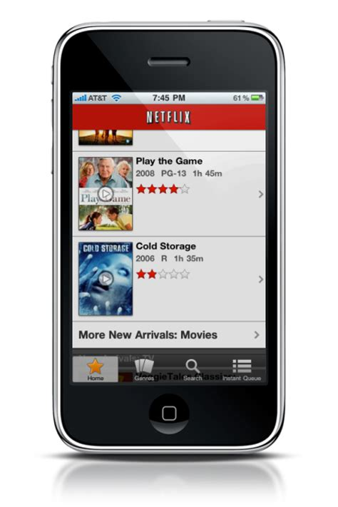 netflix app for iphone netflix app hacked to work on the iphone briefly