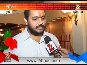 Mumbai Malhar Patekar Son Of Nan Patekar 121 On Ganesh ...