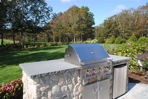 small backyard kitchen small budget friendly outdoor kitchens landscaping network